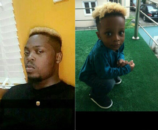 Why I changed the Colour of My Son Hair - Olamide Baddo Reveals (Photos Inside)