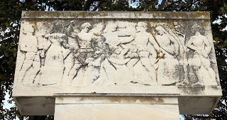 μνημείο εκτελεσθέντων το 1905 στον Αετό Φλώρινας