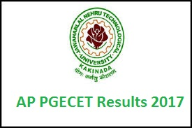 AP PGECET Results 2017