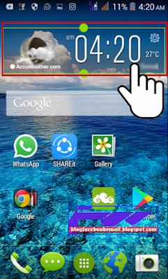 Cara Mengatasi Android Yang Lemot dengan menghapus widget