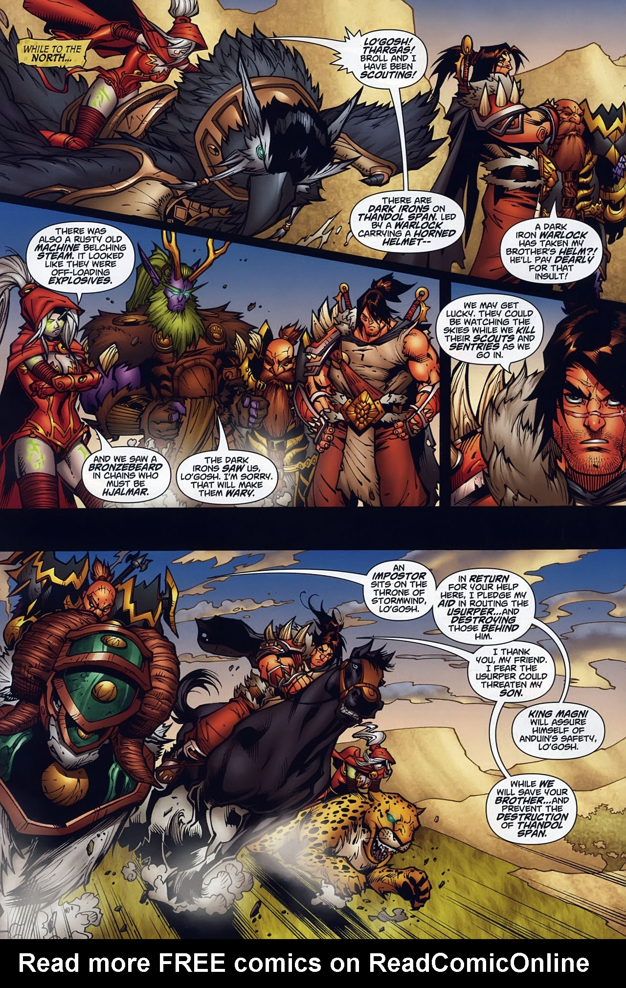 Read online World of Warcraft comic -  Issue #10 - 9
