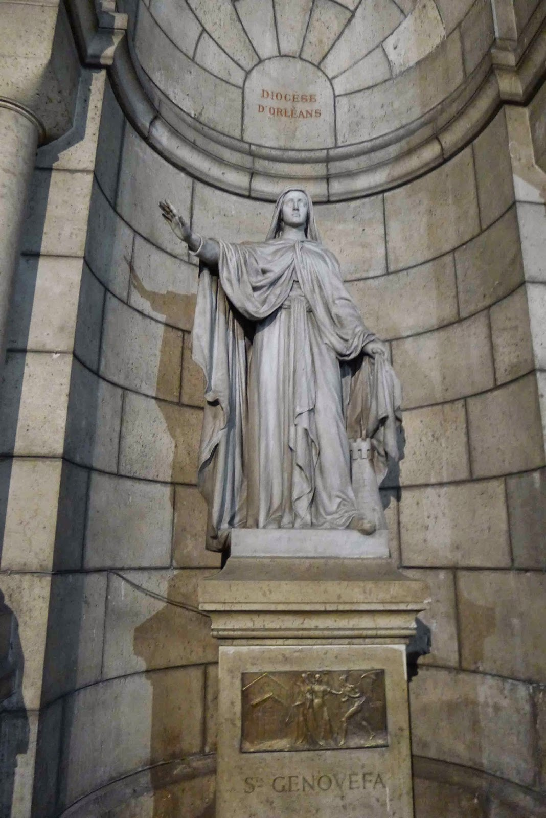 Sacre Coeur Crypt St Genevieve