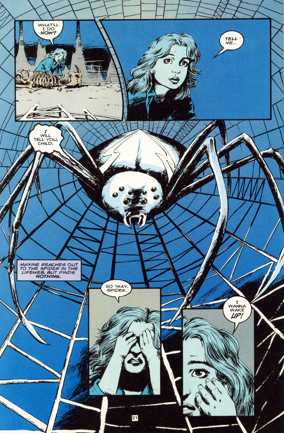 Read online Animal Man (1988) comic -  Issue #81 - 22