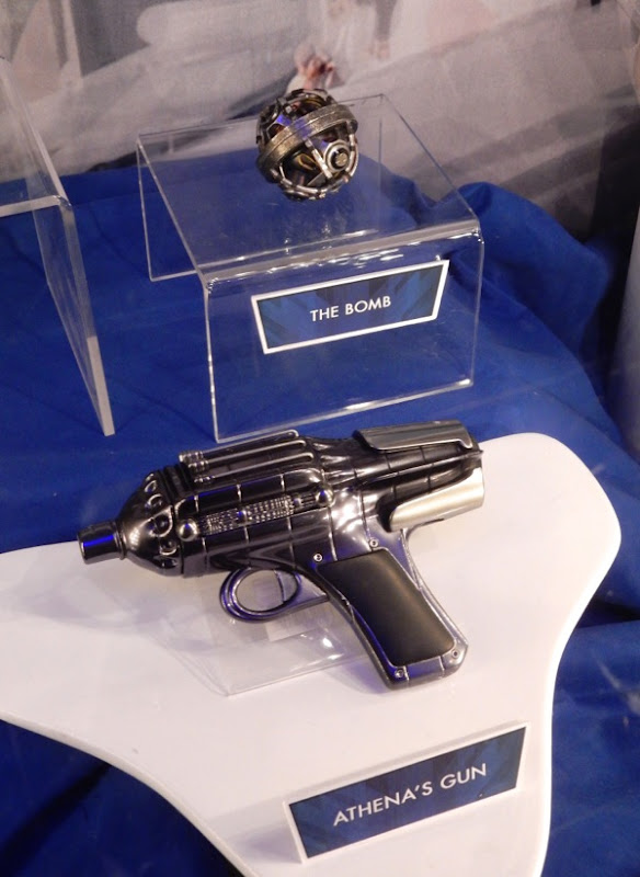 Athena gun bomb Tomorrowland movie props