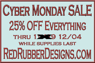 SALE at Red Rubber Designs!