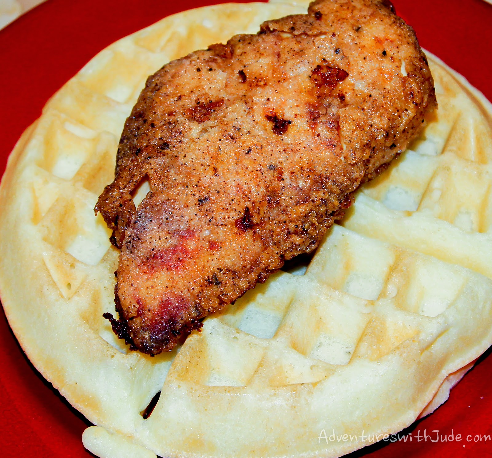 Gluten Free Dairy Free Chicken and Waffles