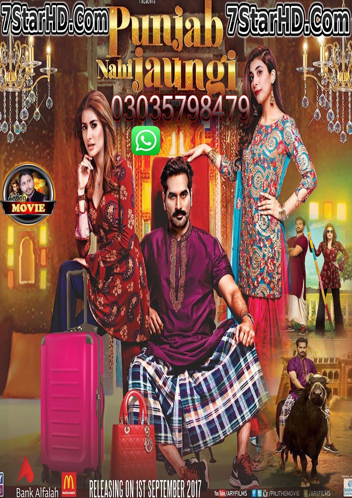 Punjab Nahi Jaungi (2017) Urdu 350MB Pre-DVDRip 480p x264