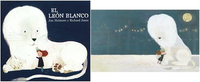 mejores cuentos infantiles 5, 6, 7, 8 años, libros recomendados el leon blanco andana
