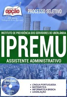 Apostila IPREMU 2017 Assistente Administrativo