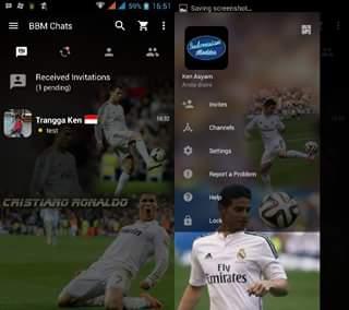 BBM Mod Real Madrid APK v3.0.0.18 Terbaru (Pemain)