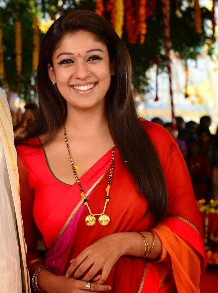 [Image: Nayanthara-in-Red-Saree-2.jpg]