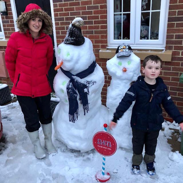 UK Christmas Snow