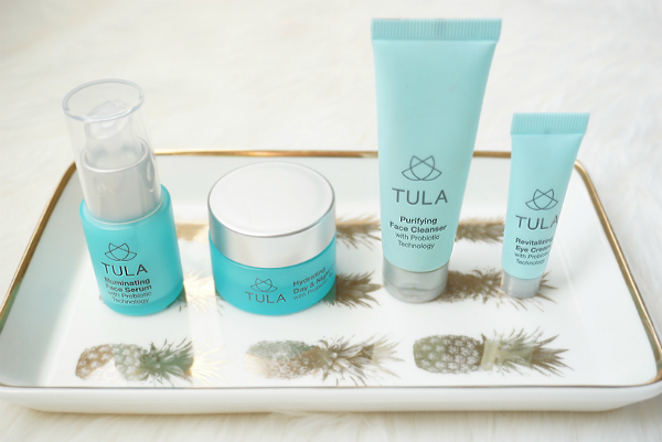 skin care routine, tula skincare, tula review