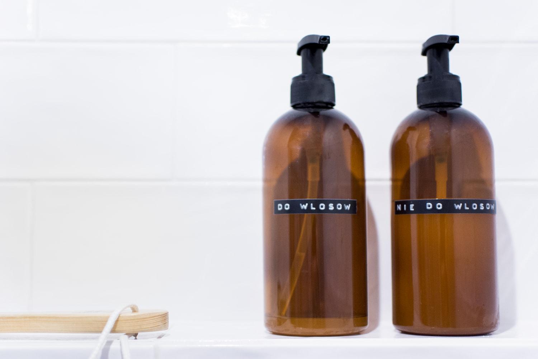 butelki łazienkowe scandi