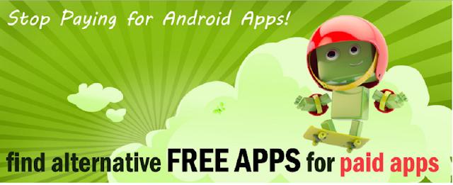 كيف تحصل على بديل مجاني لأي تطبيق مدفوع تبحث عنه