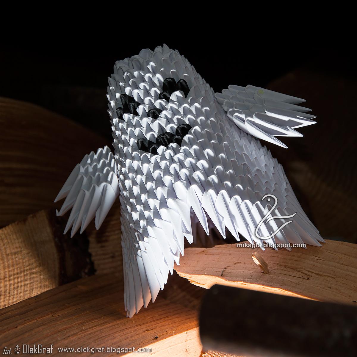 Duch Z Origami Modulowego Co Myslicie O Takiej Propozycji Na Halloween
