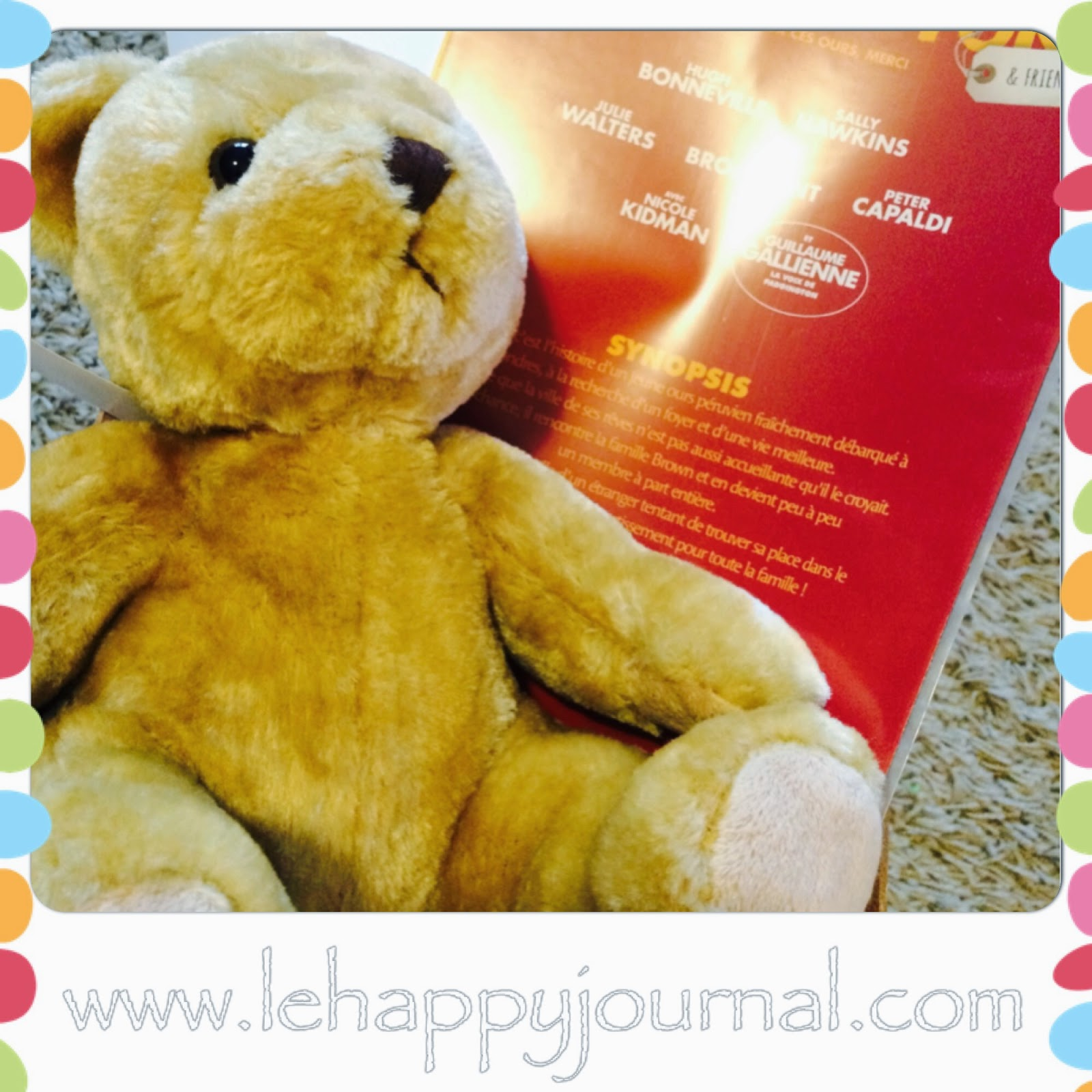 Paddington and Friends, initiative, ours, peluche, paddington, happy journal
