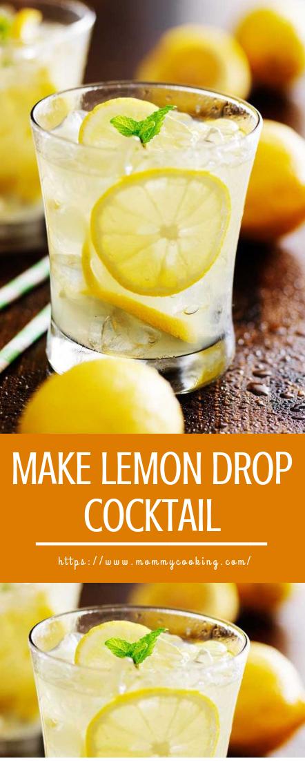 MAKE LEMON DROP COCKTAIL #cocktail #easyrecipedrinks