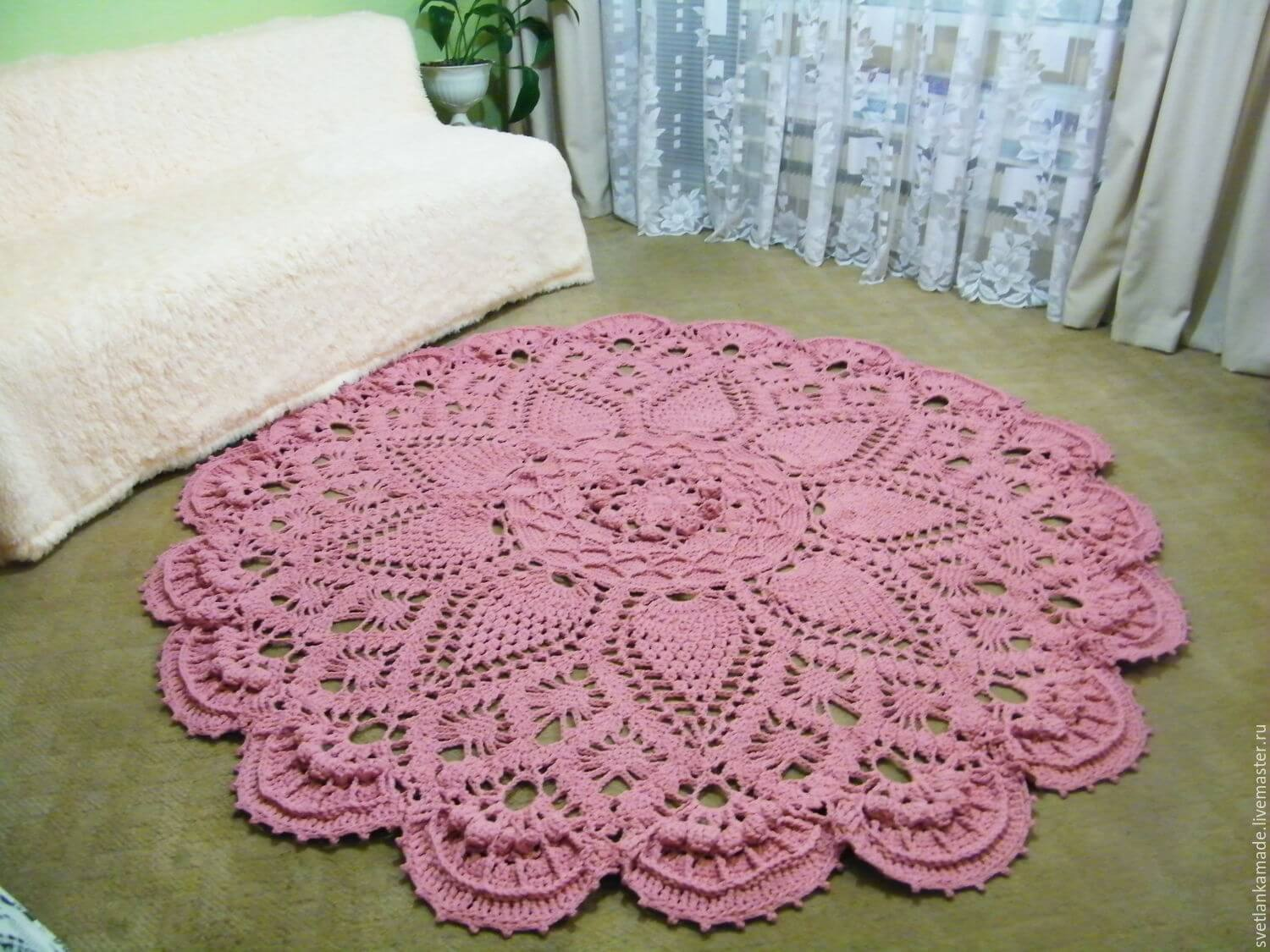 Crochet String Rug Learn How To Make Amazing Model