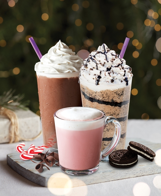 The Coffee Bean & Tea Leaf, 2018 Holiday Menu & Beverages, Holiday Menu, Christmas 2018