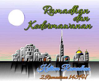 Kultum Ramadhan hari kedua : ramadhan dan kedermawanan