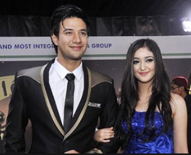 Foto Ranty Maria dan pacarnya Ammar Zoni