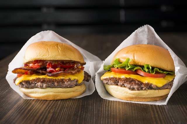 Hambúrgueres da Shake Shack em Miami