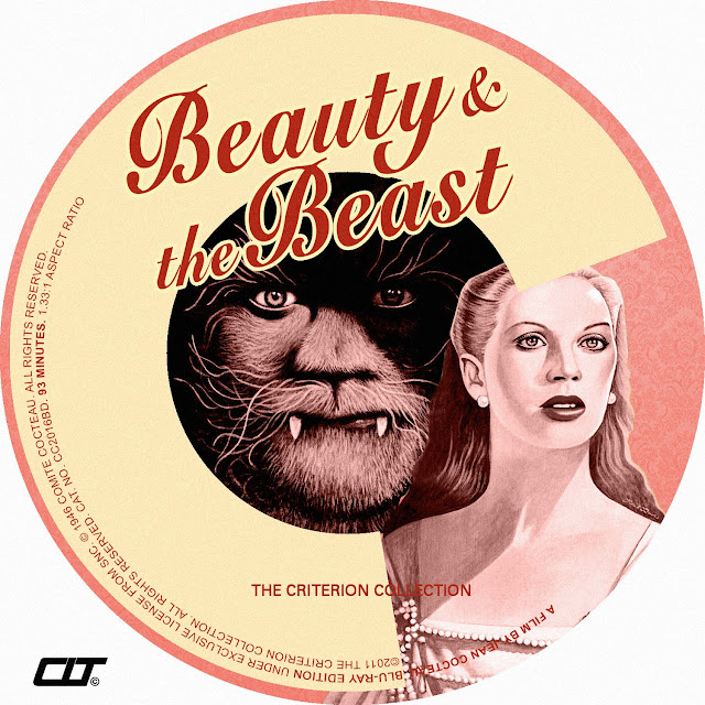 Beauty and the Beast (1946) Bluray Label