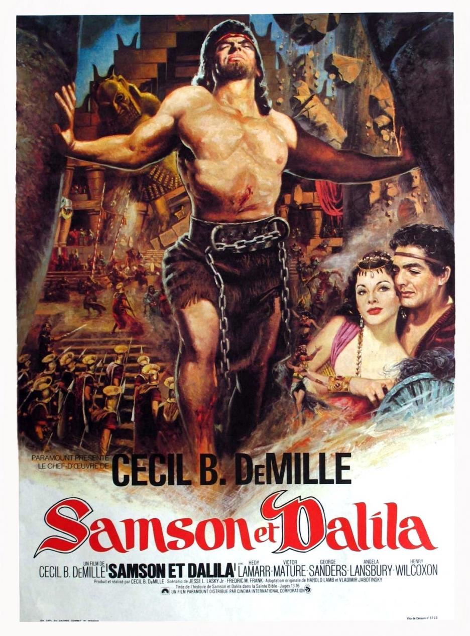 Resultado de imagem para Sansao e Dalila 1949