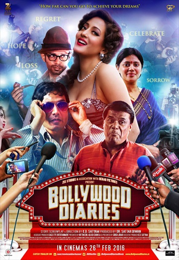 Bollywood Diaries 2016 Hindi 480p HDRip 300mb