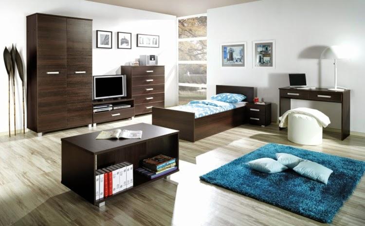 10 dormitorios juveniles para chicos dormitorios colores for Vinilos para habitacion juvenil chico