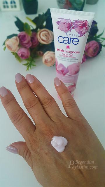 Avon Care Pink Magnolia El ve Tırnak Kütikül Kremi