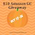 $10 Amazon GC Giveaway & Hallohop Giveaway Hop
