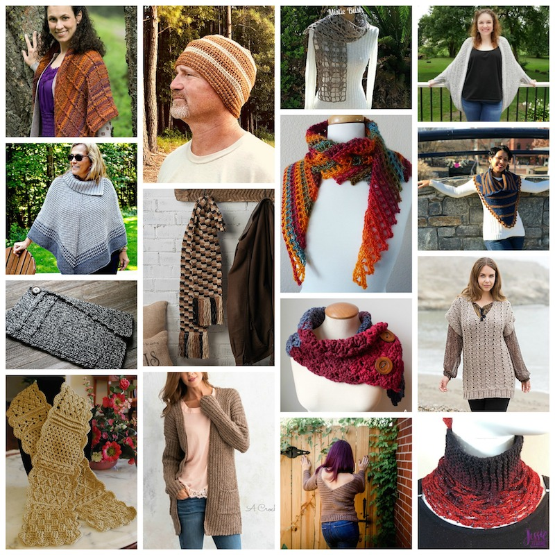 Cgoa Now 17 Mostly Free Crochet Patterns For Fall Wearables