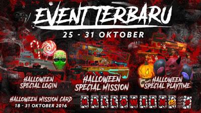 Event PB Garena 25 Oktober 2016 - Menyambut Halloween