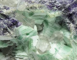 grüner Fluorit aus Thüringen