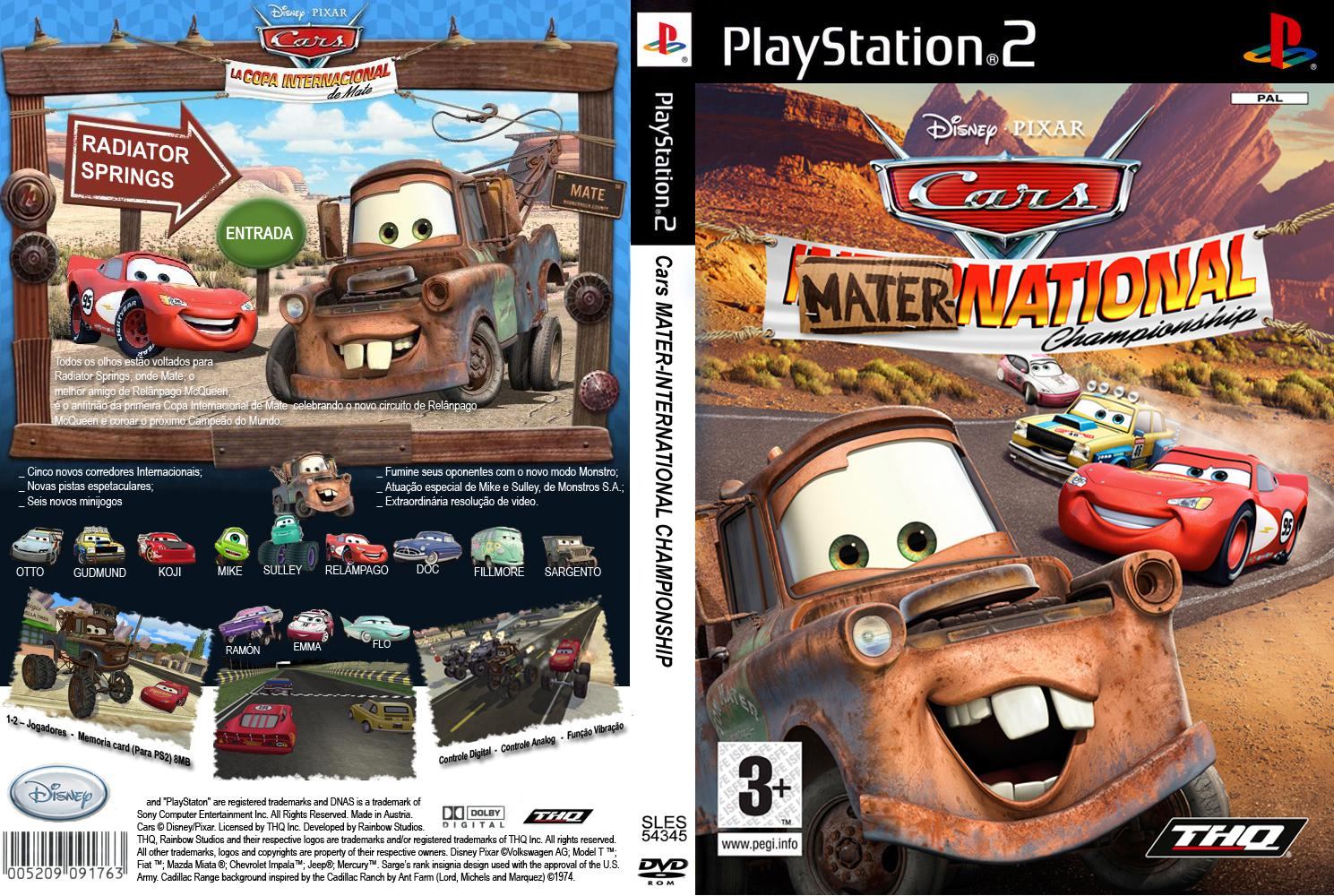 Cars Race O Rama Ps Rom