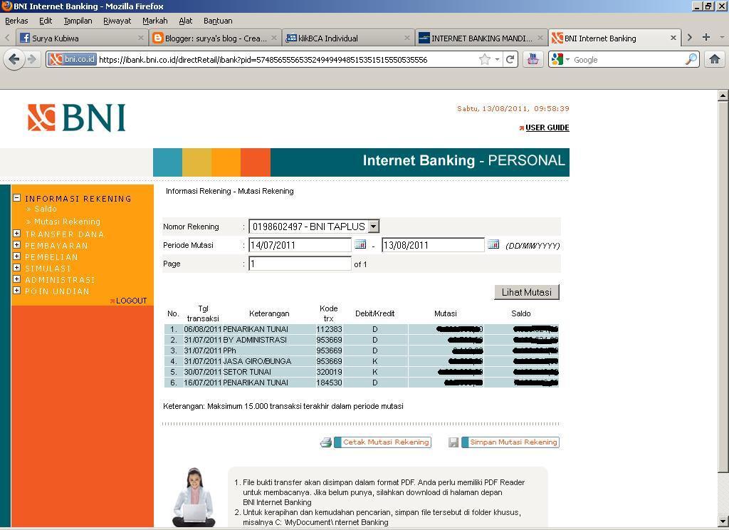 Umkm yang tidak punya rekening bri dan bni bisa dapat banpres bpum rp1,2 juta, cek nama di link ini. Belajar Teknologi Informasi: Internet Banking Semakin ...