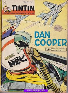 Tintin recueil souple, numéro 3, année 1961, à restaurer