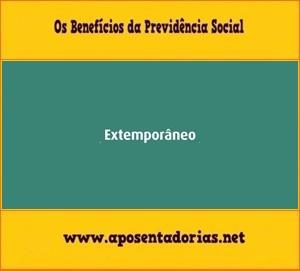 Vínculo extemporâneo, Previdência Social, INSS