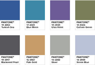 Pantone palette Intregue