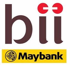 Logo PT Bank BII