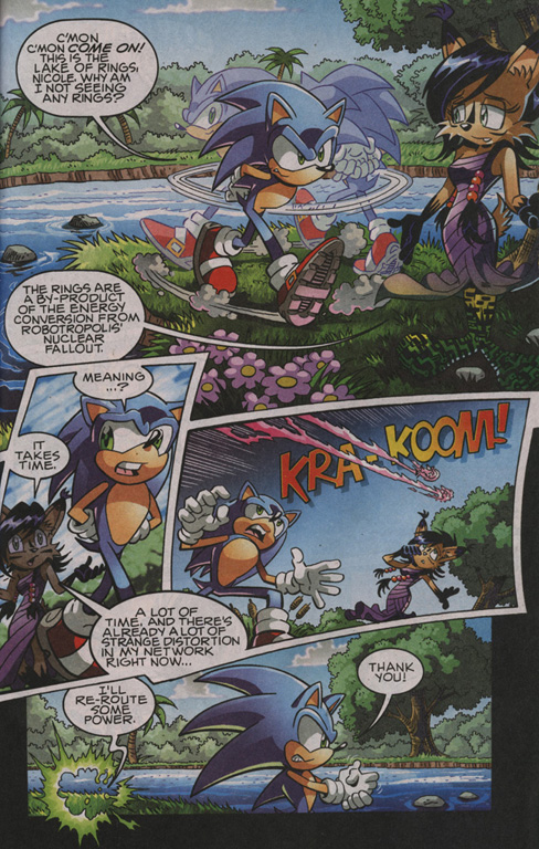 Read online Sonic The Hedgehog comic -  Issue #204 - 10
