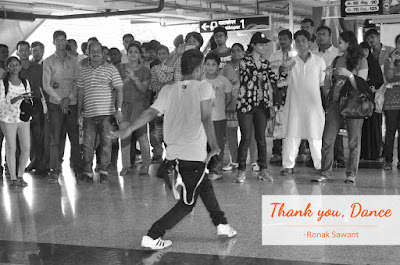 Cover Photo: Thank you, Dance - Ronak Sawant