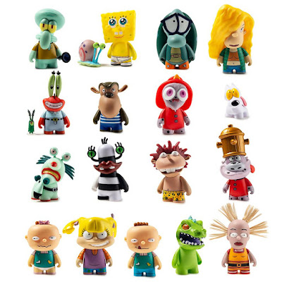 Nickalive Kidrobot And Nickelodeon Release Throwback New