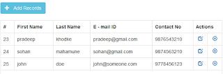 Contoh Source Code PHP Aplikasi CRUD Dengan PDO