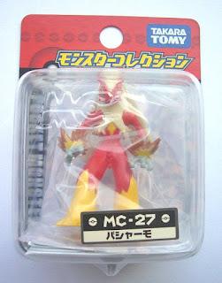Blaziken figure Takara Tomy Monster Collection MC series