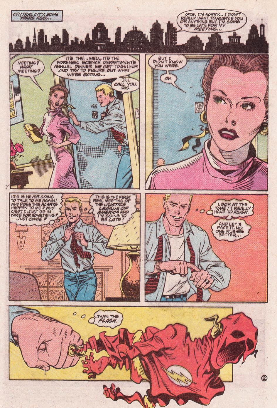 Read online Secret Origins (1986) comic -  Issue #46 - 3