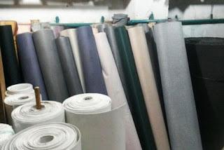 Perusahaan industri pembuatan aneka jenis permadani & alas lantai