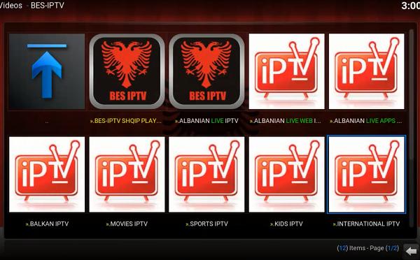 إضافة BES IPTV لمشاهدة أفضل القنوات العالمية على برنامج KODI